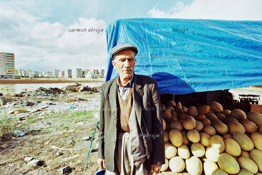 Watermelon seller in Diyarbakir