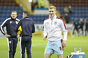 Burnley defender Ben Mee  during the Sky Bet Championship match between Burnley and Derby County at Turf Moor, Burnley, England on 25 January 2016. Photo by Simon Davies.