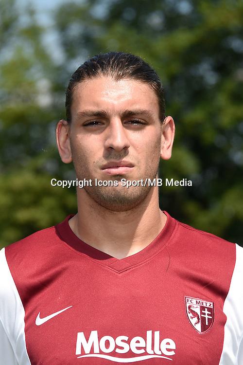 Guido MILAN - 01.08.2014 - Photo Officielle de Metz -<br /> Photo : Fred Marvaux / Icon Sport