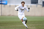 15 December 2013: Notre Dame's Max Lachowecki. The University of Maryland Terripans played the University of Notre Dame Fighting Irish at PPL Park in Chester, Pennsylvania in a 2013 NCAA Division I Men's College Cup championship match. Notre Dame won the game 2-1.