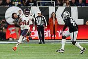 Cordarrelle Patterson (WR) of the Chicago Bears in action during the International Series match between Oakland Raiders and Chicago Bears at Tottenham Hotspur Stadium, London, United Kingdom on 6 October 2019.