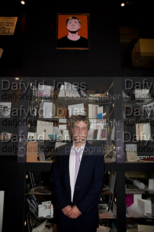 Joe Simon, ANDY WARHOL: OTHER VOICES, OTHER. ROOMS.  The Hayward Gallery. Southbank. 6 October 2008 *** Local Caption *** -DO NOT ARCHIVE-© Copyright Photograph by Dafydd Jones. 248 Clapham Rd. London SW9 0PZ. Tel 0207 820 0771. www.dafjones.com.