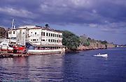 Panama City, Yacht Club, Panama, Central America, Motor Boat, underway