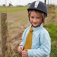 Romaine Conlon-Gateu from Feakle participating in the pony jumping competition at the Scarriff Agricultural Show 2014