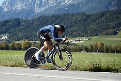 Tayler Wiles (USA) at UCI Road World Championships 2018 - Elite Women's ITT, a 27.7 km individual time trial in Innsbruck, Austria on September 25, 2018. Photo by Chris Auld/velofocus.com