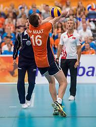 25-09-2016 NED: EK Kwalificatie Nederland - Turkije, Koog aan de Zaan<br /> Nederland plaatst zich voor het EK in Polen door Turkije met 3-1 te verslaan / Wouter ter Maat #16