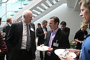 Ove H¿egh and Toby Coppel, Arts Alliance CEOs Summit. Tanaka Business School. Imperial College, London. 17 April 2007.  -DO NOT ARCHIVE-© Copyright Photograph by Dafydd Jones. 248 Clapham Rd. London SW9 0PZ. Tel 0207 820 0771. www.dafjones.com.