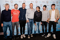 Rodolfo Borrell, Xabi Mancisidor, Carles Planchart, Brian Kidd, Lorenzo Buenaventura attends the World Premiere of Prime Video series. All or Nothing: Manchester City, at The Printworks in Manchester ahead of its release on Friday.