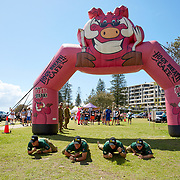 Sand Mania, Town Beach, Port Macquarie, New South Wales, Australia