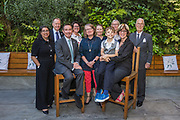 Theresa Shaw, former CEO of the Foundation of Nursing Studies with the current team.<br /> <br /> Foundation of Nursing Studies (FoNS) Celebration Event on Thursday 06 June 2019 1800-2000 at The Orangery at The King's Fund 11-13 Cavendish Square, London W1G 0AN Photo by Jane Stokes<br /> <br /> Launch of the 'Celebrate Me' Report, an initiative on Learning Disabilities Nursing<br /> <br /> Celebration of excellent work led by Nurses supported by Foundation of Nursing Studies<br /> <br /> Celebrating the Richard Tompkins Nurse Development Scholar Award<br /> <br /> Foundation of Nursing Studies Team:<br /> <br /> Joanne Bosanquet MBE, Chief Executive<br /> Kate Sanders MSc, BSc (Hons), RHV, RN, Practice Development Facilitator<br /> Jo Odell MA (Distinction), BSc (Hons), RGN, Practice Development Facilitator<br /> Giselle Cope RNLD, BSc (Hons), Practice Development Facilitator<br /> Debbie Warren BA (Hons), M. Soc. Sci, Dip TEFLA, Communications and Administration Officer
