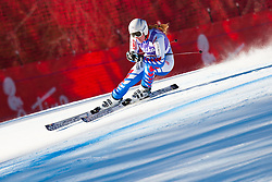 13.01.2012, Pista Olympia delle Tofane, Cortina, ITA, FIS Weltcup Ski Alpin, Damen, Abfahrt, 2. Training, im Bild Aurelie Revillet (FRA) // Aurelie Revillet of France during ladies downhill 2nd training of FIS Ski Alpine World Cup at 'Pista Olympia delle Tofane' course in Cortina, Italy on 2012/01/13. EXPA Pictures © 2012, PhotoCredit: EXPA/ Johann Groder