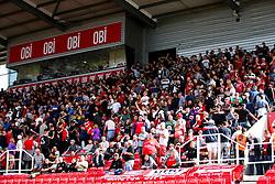 Bristol City fans before kick off - Rogan/JMP - 14/09/2019 - Bet365 Stadium - Stoke, England - Stoke City v Bristol City - Sky Bet Championship.