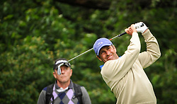 05.06.2014, Country Club Diamond, Atzenbrugg, AUT, Lyoness Golf Open, im Bild Jose Maria Olazabal (ESP) // Jose Maria Olazabal (ESP) in action during the Austrian Lyoness Golf Open at the Country Club Diamond, Atzenbrugg, Austria on 2014/06/05. EXPA Pictures © 2014, PhotoCredit: EXPA/ Sascha Trimmel