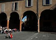 Bologna, Students in Piazza Verdi