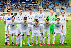 Team of FK Cukaricki during 1st Leg football match between NK Domzale (SLO) na FC Cukaricki (SRB) in 1st Round of Europe League 2015/2016 Qualifications, on July 2, 2015 in Sports park Domzale,  Slovenia. Photo by Vid Ponikvar / Sportida