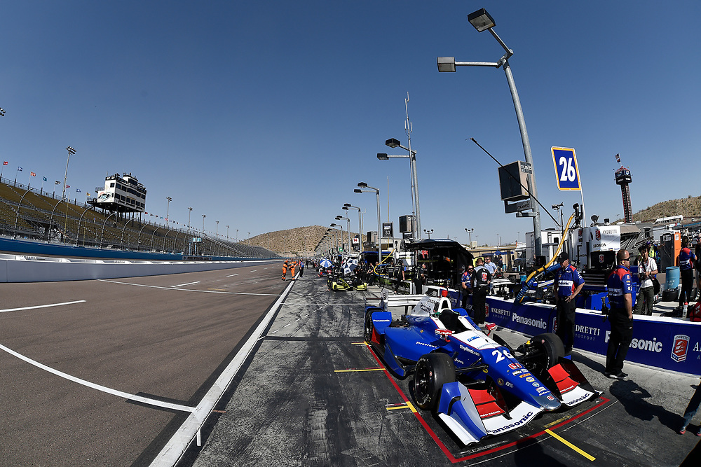 Verizon IndyCar Series<br /> Desert Diamond West Valley Phoenix Grand Prix<br /> Phoenix Raceway, Avondale, AZ USA<br /> Friday 28 April 2017<br /> Takuma Sato, Andretti Autosport Honda<br /> World Copyright: Scott R LePage<br /> LAT Images<br /> ref: Digital Image lepage-170428-phx-1213