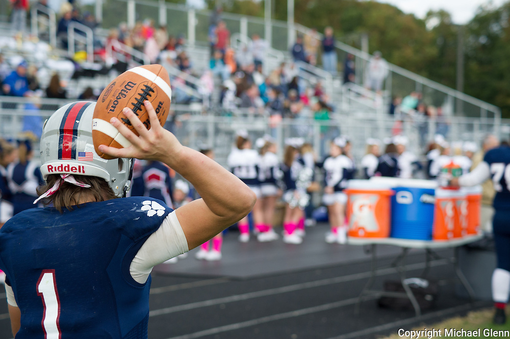 20151017 / New Jersey, USA Lacey Township High School // Brick HS at Lacey Lions football Michael Glenn / Glenn Images