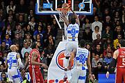 DESCRIZIONE : Campionato 2014/15 Dinamo Banco di Sardegna Sassari - Olimpia EA7 Emporio Armani Milano<br /> GIOCATORE : Shane Lawal<br /> CATEGORIA : Schiacciata Controcampo<br /> SQUADRA : Dinamo Banco di Sardegna Sassari<br /> EVENTO : LegaBasket Serie A Beko 2014/2015<br /> GARA : Dinamo Banco di Sardegna Sassari - Olimpia EA7 Emporio Armani Milano<br /> DATA : 07/12/2014<br /> SPORT : Pallacanestro <br /> AUTORE : Agenzia Ciamillo-Castoria / Luigi Canu<br /> Galleria : LegaBasket Serie A Beko 2014/2015<br /> Fotonotizia : Campionato 2014/15 Dinamo Banco di Sardegna Sassari - Olimpia EA7 Emporio Armani Milano<br /> Predefinita :