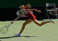 MELBOURNE, AUSTRALIA - JANUARY 19:  Daniela Hantuchova of Slovak Republic in action during day one of the Australian Open January 19, 2004 in Melbourne, Australia. (Photo by Lars Mueller/Sportsbeat) *** Local Caption *** Daniela Hantuchova