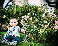 Barbiero Family Photosession Huntington Park Nob Hill San Francisco
