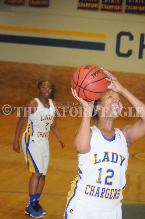 Oxford High vs. Charleston in girls high school basketball in Oxford, Miss. on Tuesday, December 4, 2012. Oxford won.