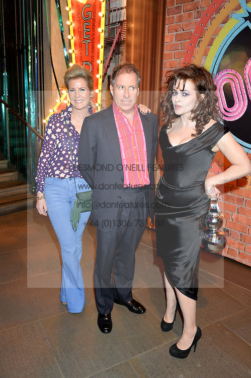 Left to right, VISCOUNT & VISCOUNTESS LINLEY and HELENA BONHAM-CARTER at a Night of Disco in aid of Save The Children held at The Roundhouse, Chalk Farm Road, London on 5th March 2015.