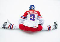 PREROV, CZECH REPUBLIC - JANUARY 13:  Finland v Czech Republic placement round - 2017 IIHF Ice Hockey U18 Women's World Championship. (Photo by Steve Kingsman/HHOF-IIHF Images)