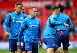 Wayne Rooney of Everton warms up on his return to Old Trafford - Mandatory by-line: Matt McNulty/JMP - 17/09/2017 - FOOTBALL - Old Trafford - Manchester, England - Manchester United v Everton - Premier League