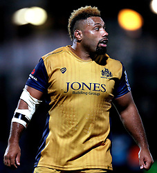 Jamal Ford-Robinson of Bristol Rugby - Mandatory by-line: Robbie Stephenson/JMP - 04/11/2016 - RUGBY - Sixways Stadium - Worcester, England - Worcester Warriors v Bristol Rugby - Anglo Welsh Cup