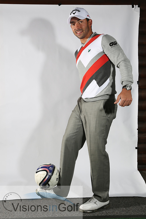 Pablo Larrazabal<br /> Portrait<br /> 2013<br /> <br /> Golf Pictures Credit by: Mark Newcombe / visionsingolf.com