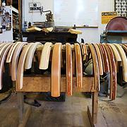 Custom bicycle fenders created by Tom Anderson of Creative Openings.
