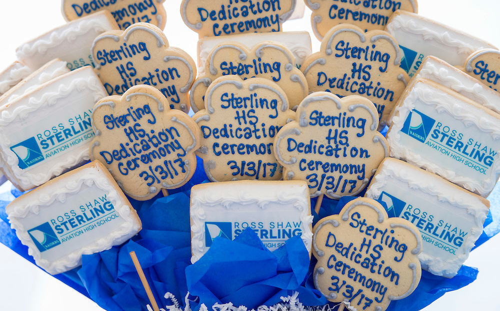 Ribbon cutting ceremony at Sterling High School, March 3, 2017.