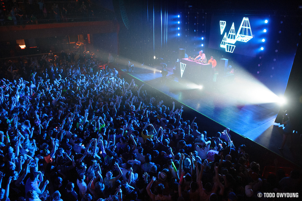 AVICII performing at The Pageant in St. Louis, Missouri on January 10, 2012.