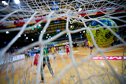Goal given by RD Slovan at MIK First league Handball match between RK Cimos Koper and RD Slovan, on May 9, 2009, in SRC Bonifika, Koper, Slovenia.  (Photo by Vid Ponikvar / Sportida)