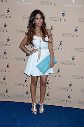 The Johnnie Walker Gold Label Reserve Party aboard John Walker & Sons Voyager, St.Georges Stairs Tier, Butler's Wharf Pier, London, UK on 17th July 2013.<br /> Picture Shows:-Preeya Kalidas.