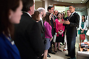 08.APRIL.2013. WASHINGTON D.C.<br /> <br /> PRESIDENT BARACK OBAMA TALKS WITH FAMILY MEMBERS OF VICTIMS OF THE SANDY HOOK ELEMENTARY SCHOOL SHOOTINGS, ABOARD AIR FORCE ONE UPON THEIR ARRIVAL AT JOINT BASE ANDREWS, MD<br /> <br /> BYLINE: EDBIMAGEARCHIVE.CO.UK<br /> <br /> *THIS IMAGE IS STRICTLY FOR UK NEWSPAPERS AND MAGAZINES ONLY*<br /> *FOR WORLD WIDE SALES AND WEB USE PLEASE CONTACT EDBIMAGEARCHIVE - 0208 954 5968*
