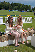 NATALIE COX; MARY-ANNE KEARNEY, The Veuve Clicquot Gold Cup Final.<br /> Cowdray Park Polo Club, Midhurst, , West Sussex. 15 July 2012.