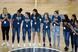 Ladies team Slovenia during friendly basketball match between Slovenia and Croatia before European Championships 2017, on August 24, 2017 in SRC Stozice, Ljubljana, Slovenia. Photo by Matic Klansek Velej / Sportida