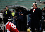 Bari (BA), 23-01-2011 ITALY - Italian Soccer Championship Day 21 - Bari VS Napoli..Pictured: Ventura mister Bari..Photo by Giovanni Marino/OTNPhotos . Obligatory Credit