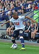Wellington Silva during the Sky Bet Championship match between Bolton Wanderers and Nottingham Forest at the Macron Stadium, Bolton, England on 22 August 2015. Photo by Mark Pollitt.