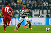 David Alaba Bayern, Paulo Dybala Juventus <br /> Torino 23-02-2016 Juventus Stadium, Football Champions League 2015/2016 Round of 16 Juventus - Bayern Munich / Juventus - Bayern Monaco .  Foto Filippo Alfero / Insidefoto