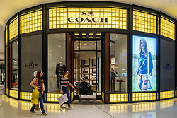 Coach fashion  shop in Dubai Mall Dubai United Arab Emirates