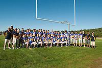 Varsity Football Gilford seniors and team for 2011.