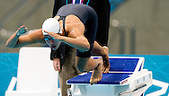 LONDEN - Ranomi Kromowidjojo in actie tijdens de finale 100 meter vrij in het Aquatics Centre tijdens de Olympische Spelen in Londen. Ze won goud.