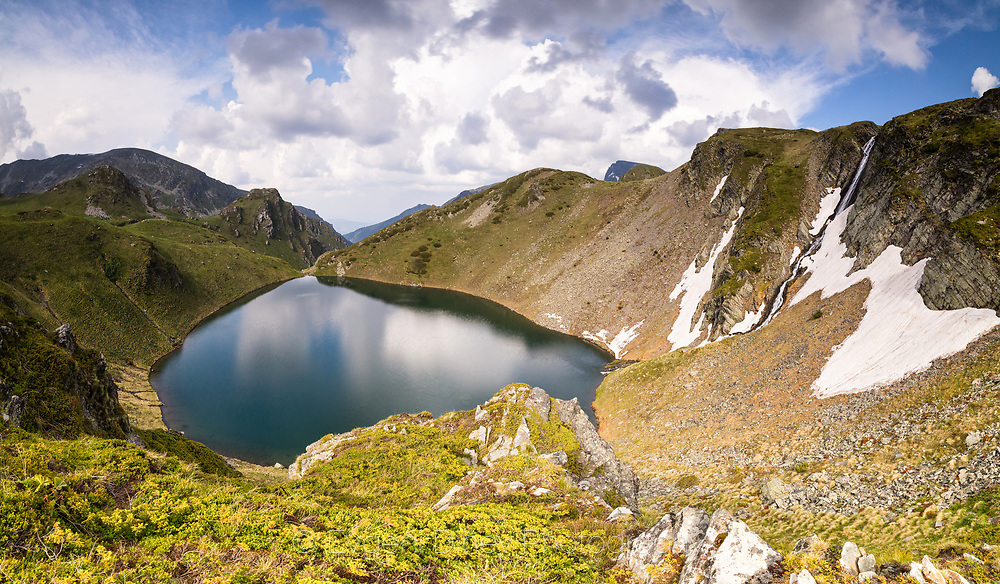 Above Urdino lake in Rila Mountain