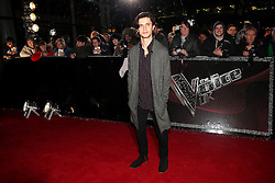 Cel Spellman arriving for The Voice UK auditions at The Voice UK Dock 10, Media City Blue, Salford, Manchester.