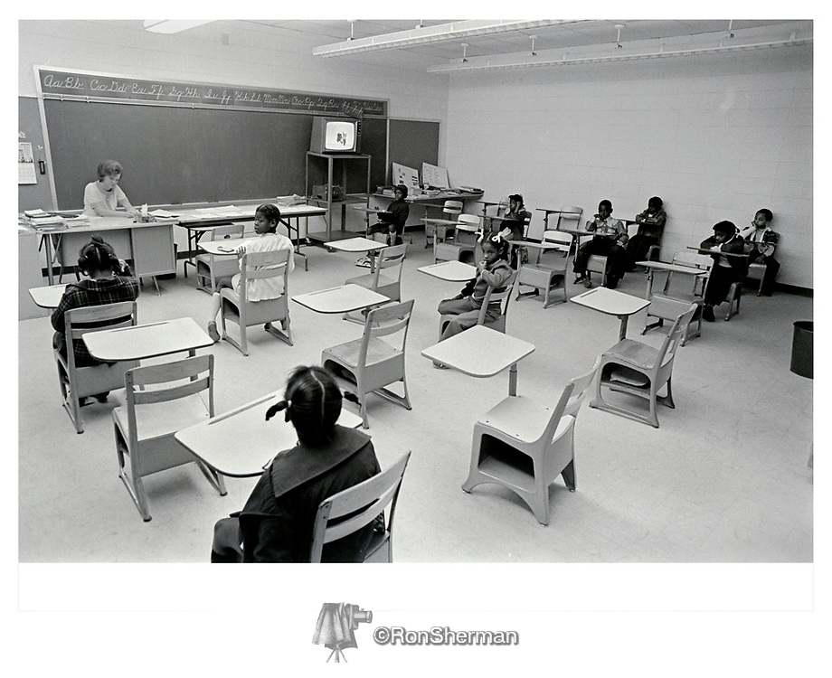 """Decades after a former Richmond County superintendent said segregation must be maintained """"at any cost,"""" a federal judge on Wednesday freed the school system from a 1972 desegregation order that forced integration and led to the racial equality in classrooms today.Ron Sherman; School rooms were mostly empty Feb. 14, 1972, as Richmond County parents participated in a boycott, protesting federally ordered school desegregation by busing."""