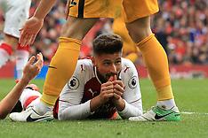 Arsenal v Brighton & Hove Albion - 01 October 2017