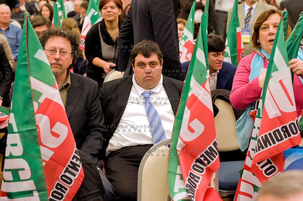 Roma, 29 Marzo 2015<br /> Convention di Forza Italia: Roma l'Italia e l'Europa che vogliamo.Militanti dell'Esercito di Silvio.<br /> Rome, March 29, 2015<br /> Convention  of Forza Italy: Rome the Italy and Europe that we want.Activists the Army Silvio