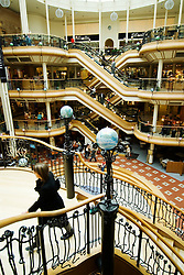 Interior of historic upmarket Prices Square shopping mall in Buchanan Street Glasgow Scotland